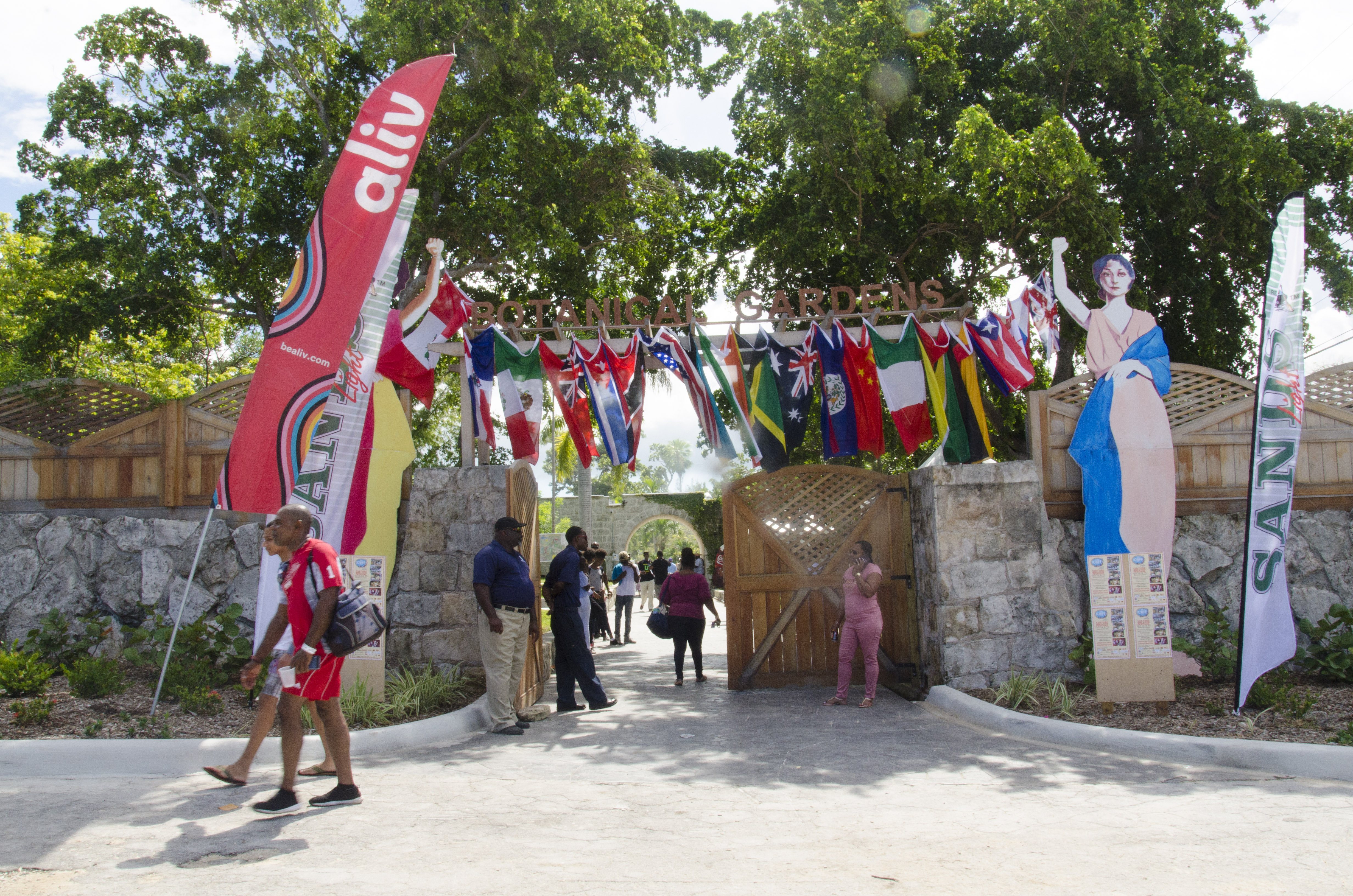 Entrance to the International Cultural Festival