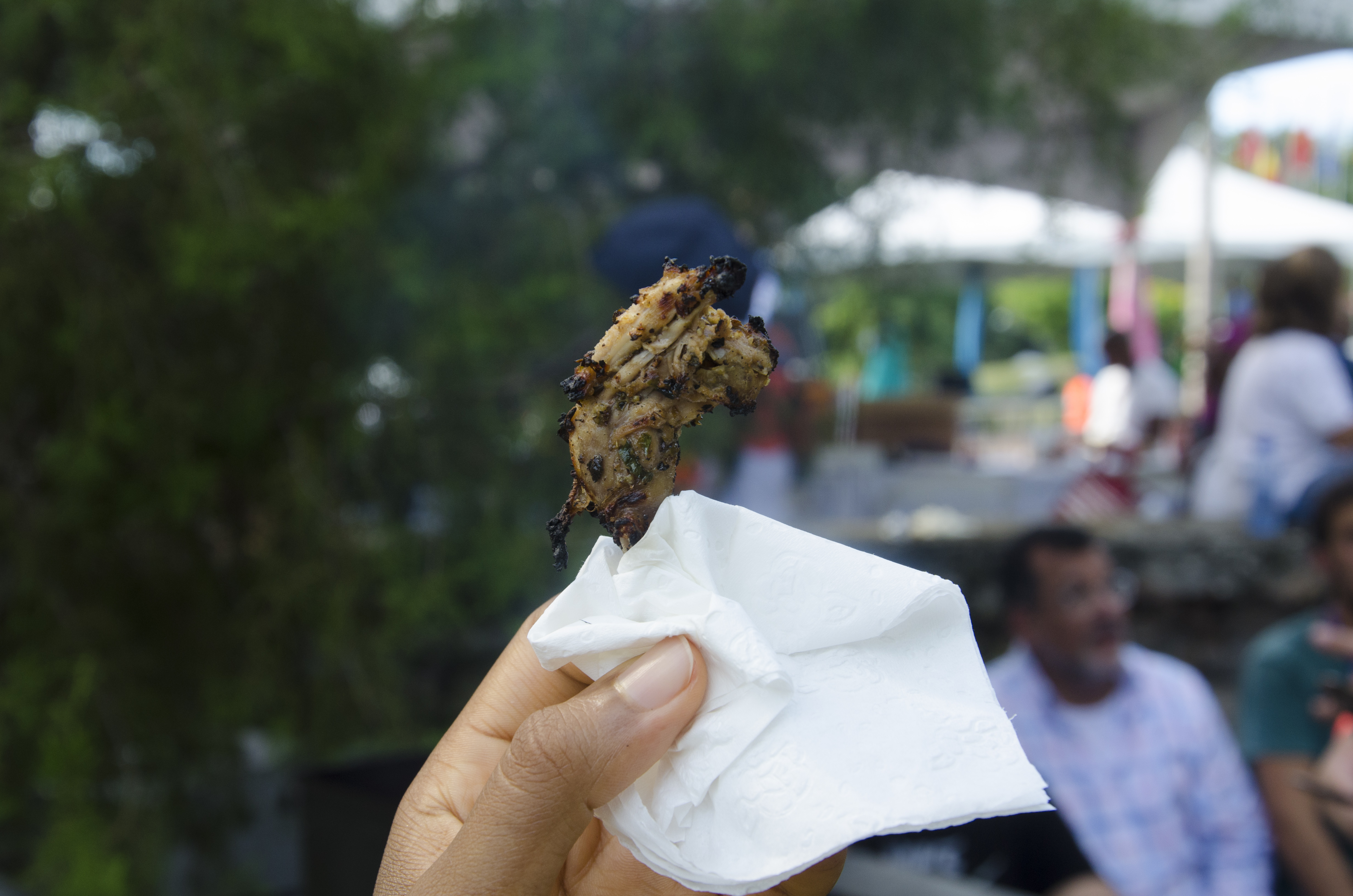 Grilled Quail at International Cultural Festival