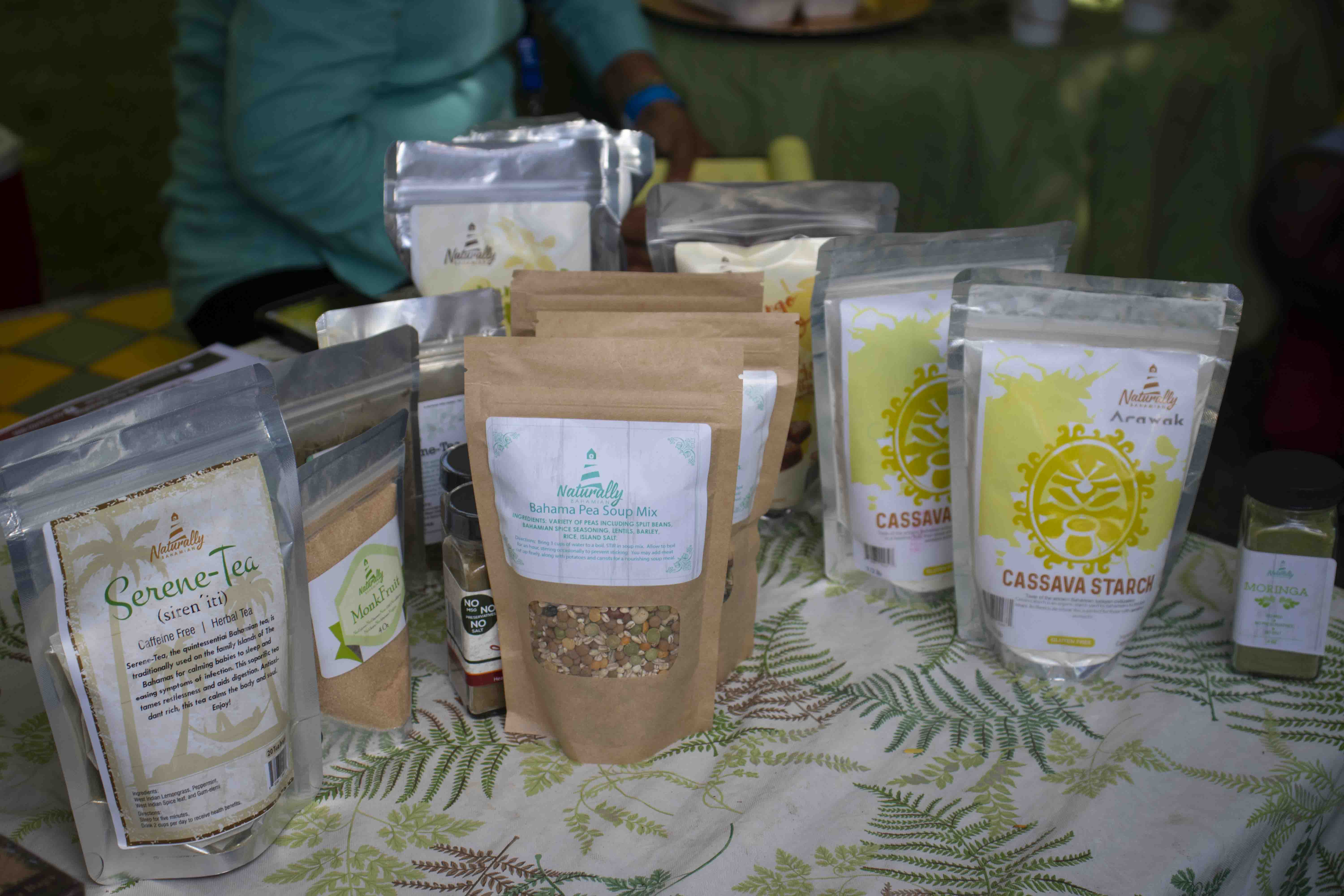 Naturally Bahamian products