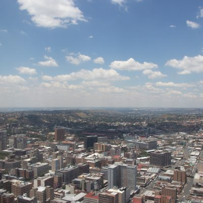View of Joburg from the top of the Carlton Centre. On my Joburg Travel Guide: What to Do list!